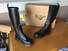 Dr Martens 1B60 Black smooth boots UK 3 EU 36 skin punk 1914 England