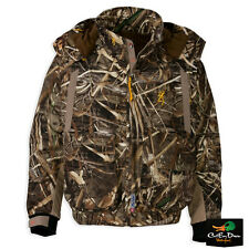 NEW BROWNING WICKED WING INSULATED WADER JACKET COAT REALTREE MAX-5 CAMO MEDIUM