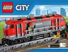 LEGO City Heavy Haul Locomotive - 60098 Heavy Haul Train - No Box/Power Function