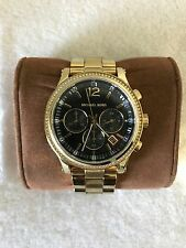 Michael Kors MK6063 wrist watch for Women in Gold and black