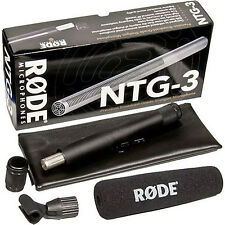 RODE NTG-3 Professional Precision RF-Biased Shotgun Microphone NTG3 FAST SHIP!