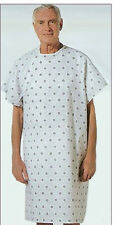 1 NEW HOSPITAL PATIENT GOWN MEDICAL EXAM GOWN ECONOMY
