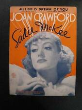 All I Do Is Dream Of You Sheet Music Vintage 1934 Joan Crawford Sadie McKee (O)