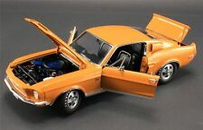 1968 FORD MUSTANG SHELBY GT 500 ACME 1:18 GRABBER ORANGE / BLACK GMP DIECAST