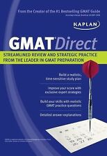 Kaplan GMAT Direct: Streamlined Review and Strategic Practice from the Leader in