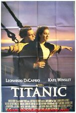 TITANIC Affiche Cinéma ORIGINALE / Movie Poster JAMES CAMERON LEONARDO DICAPRIO