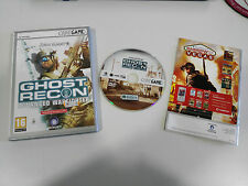 GHOST RECON ADVANCED WARFIGHTER JUEGO PC ESPAÑOL DVD-ROM CODE GAME UBISOFT