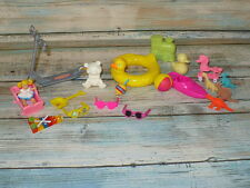 20 pc Mattel Barbie KELLY TOMMY DOLL ACCESSORY LOT Toys Accessories Play Room
