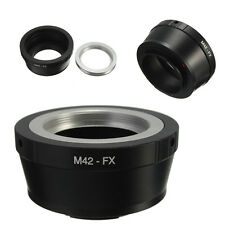 M42 lente para Fujifilm Fuji Fx X Mount X-pro1 X Pro1 X-e1 X-m1 Cámara Anillo Adaptador