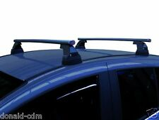 ROOF BARS COMPLETE NISSAN QASHQAI DAL 2007 AL 2013,NO RAIL,SET STEEL