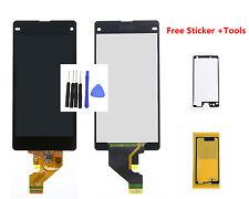 Negro Pantalla táctil Digitalizador LCD For Sony Xperia Z1 Compact Z1 Mini D5503