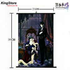 Japan Anime Black Butler Kuroshitsuji Home Decor Poster Wall Scroll 21*30cm 14