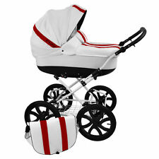 Babybuu Play Combination pram/Pushchair 3 in1 Classic/Retro/Sportscar buggy