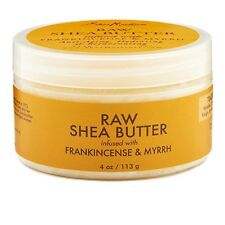 Shea Moisture Raw Shea Butter Infused with Frankincense - Myrrh 4 oz