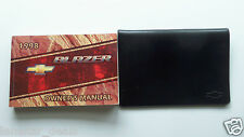 1998 Chevrolet Chevy Blazer Owner's Manual with Case