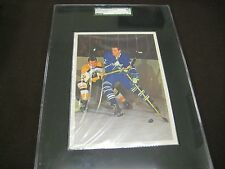 RARE 1963-64 TORONTO STAR STARS IN ACTION SGC GRADED THE GREAT  FRANK MAHOVLICH