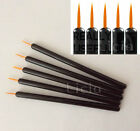 5x Fine Point Tip Disposable Liquid Eyeliner Brush Eye Lip Liner Make Up Wand