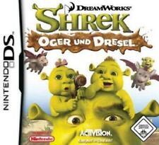 Nintendo ds shrek ogres et DRESEL * allemand *** NEUF