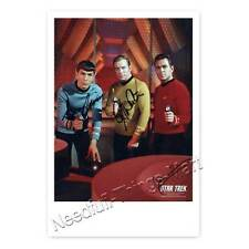 Star Trek mit James Doohan, Leonard Nimoy, William Shatner -  Autogrammfoto 