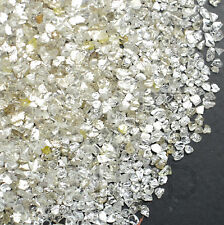 100% NATURAL Loose Rough Uncut Diamonds White Flat shape 1.70-2.00mm 5 crts lot