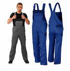 Latzhose Montagehose 42-64 Arbeitslatzhose Arbeitshose blau-marine Hose TOP