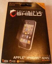 ZAGG invisibleSHIELD for IPHONE 4 - SCREEN  (1st class p+p)