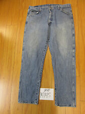 Used Wrangler 96501DS grunge jean tag 40x32 meas 39x32 zip14145