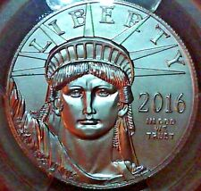 2016 1 OZ Platinum American Eagle PCGS MS69 First Strike