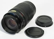 CANON EF 70-210mm 1:4 PUSH/PULL TELEPHOTO ZOOM LENS EX w/CAPS DIGITAL EOS