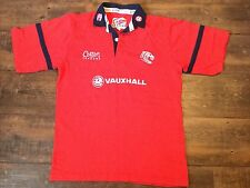 2001 2002 Leicester Tigers Rugby Camicia Adulti SMALL JERSEY