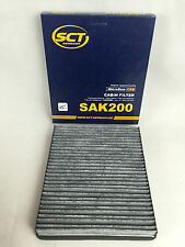 AKTIVKOHLEFILTER SCT GERMANY FORD FOCUS MONEDO C-MAX GALAXY S-MAX CABIN FILTER
