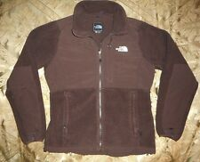 The North Face Ladies Brown Thick Polar Fleece Zip Front Jacket Size M Great