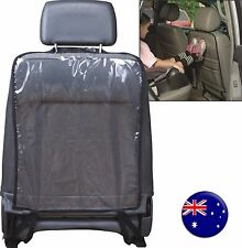 Auto Car Kids Child Seat Back PVC Clear Kick prevent Cover Mat protector