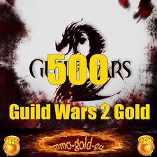 500 Guild Wars 2 Gold - 500 GW 2 Gold für alle EU Server - schnell & sicher [PC]