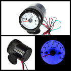 "2"" 52mm Car Auto Motor Digital Blue LED Tacho Gauge Meter Tachometer RPM"