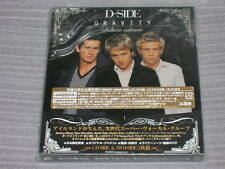 D-SIDE gravity Deluxe Edition JAPAN CD + BONUS DVD WESTLIFE TAKE THAT SEAL NEW
