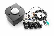 "Xgaming 3"" Industrial-Grade Arcade Tackball Kit: USB"