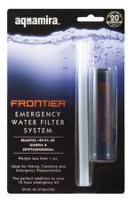 Aquamira Emergency Water Filter System - Filters Up To 20 Gallons