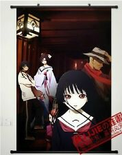 Home Decor Japanese Anime Wall poster Scroll Hell Girl Jigoku Shoujo Ai Enma WJ