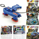 Fusion Top Metal Master Rapidity Fight Rare Beyblade 4D Launcher Set Action Game