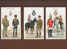 1x FULL SET of 82 MILITARY Postcards -COLLECTOR POSTCARDS- BRITISH ARMY -