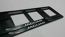 2X JAGUAR NEUF EXCLUSIF SUPPORT DE PLAQUE D'IMMATRICULATION EUROPEA.