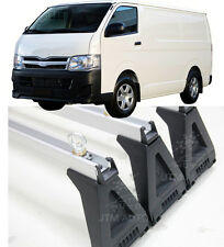 3 X TOYOTA HIACE LWB TECHNICIAN ADJUSTABLE ROOF RACKS 2005-2014