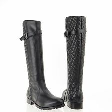 Women's Matisse Coco Black Leather Round Toe Knee High Boots Sz 5.5 M NEW $264