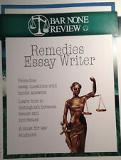 Bar None Review Remedies Essay Writer Bar Exam Preparation