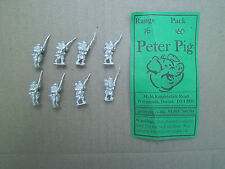 15mm Peter Pig WWI French Early war Infantry advancing #2