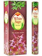 Six 20-Stick Boxes SAC White Sage Incense (Total of 120 Sticks)!