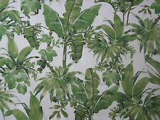 "CHIVASSO CURTAIN FABRIC DESIGN ""Jungle Like"" 1.9 METRES CH2813-30 GREEN MONSOON"