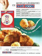 PUBLICITE ADVERTISING 126  1969  le fromage Rapé Picon