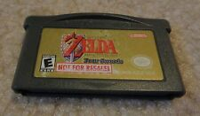 Legend of Zelda A Link to the Past NOT FOR RESALE NFR Nintendo Game Boy Advance